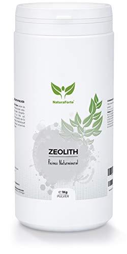 NaturaForte Zeolith Pulver 1000g - Klinoptilolith...