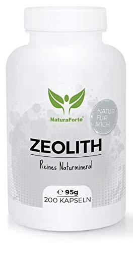 NaturaForte Zeolith Kapseln 200 Stück -...