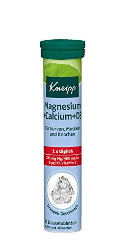 Kneipp Magnesium + Calcium + D3 Brausetabletten,...