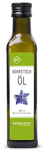 Borretschöl BIO kaltgepresst 250ml I nativ - 100%...