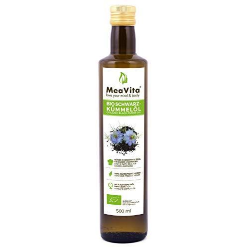 MeaVita Bio Schwarzkümmelöl, kaltgepresst, (1 x...