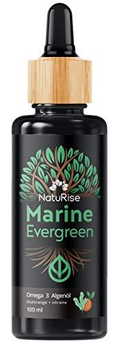 NatuRise Omega 3 Algenöl (100ml) | Marine...