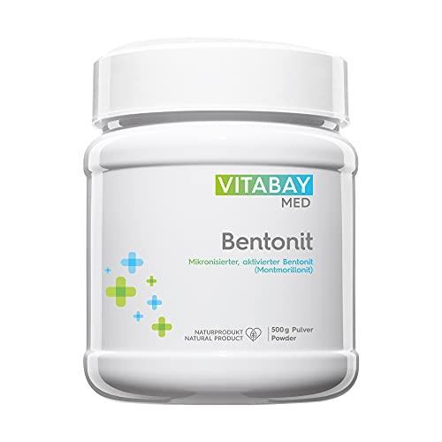 Vitabay Bentonit Pulver (500 g) • Ultrafein •...