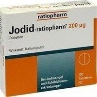 JODID ratiopharm 200 µg Tabletten 100 St