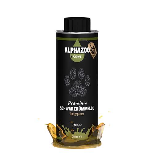 alphazoo Premium Schwarzkümmelöl für Hunde,...