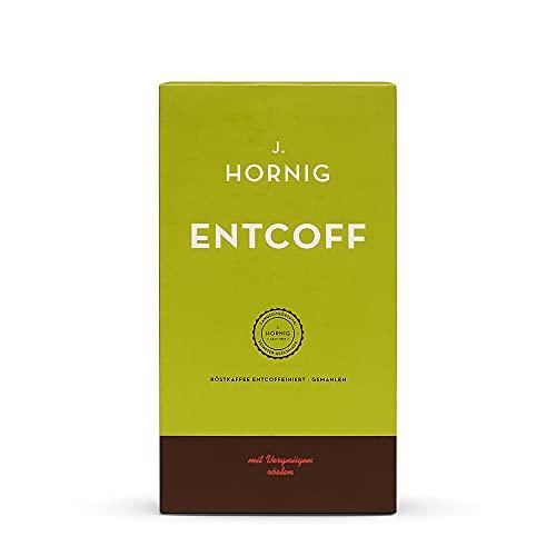 J. Hornig Koffeinfreier Kaffee gemahlen, Entcoff,...