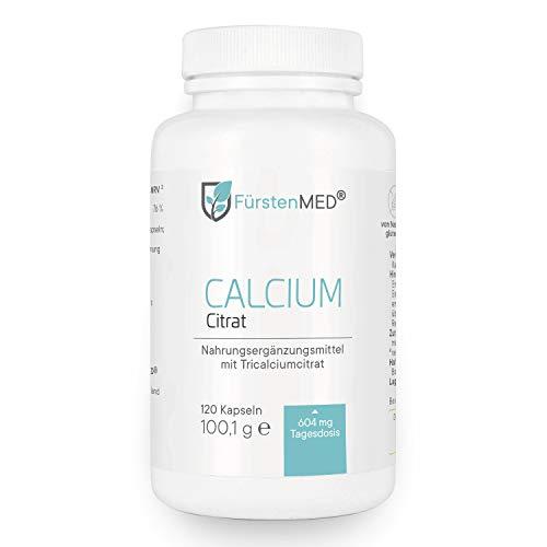 FürstenMED® Calcium Citrat Kapseln - Reines...