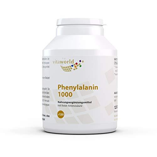 Vita World L-Phenylalanin 1000mg 120 Tabletten -...