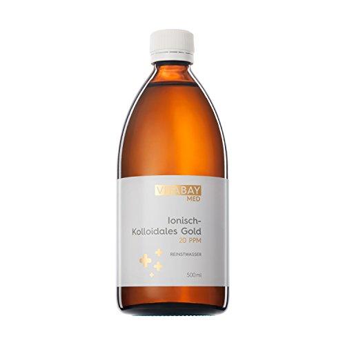 Vitabay Kolloidales Gold 20 PPM • 500 ml •...