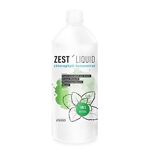 1 Liter Liquid Chlorophyll aus Alfalfa mit...