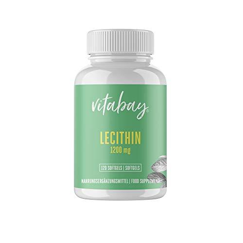 Vitabay Lecithin 1200 mg • 120 vegane Softgels...