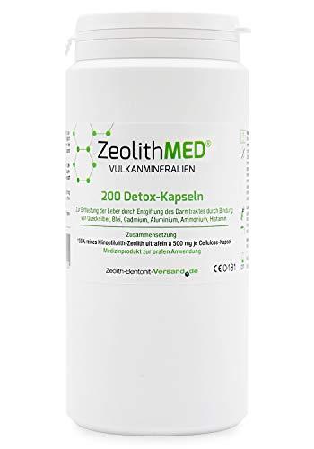 Zeolith MED® 200 Detox-Kapseln zertifiziertes...