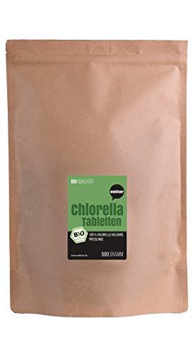Wohltuer Bio Chlorella 500g, Rohkostqualität...