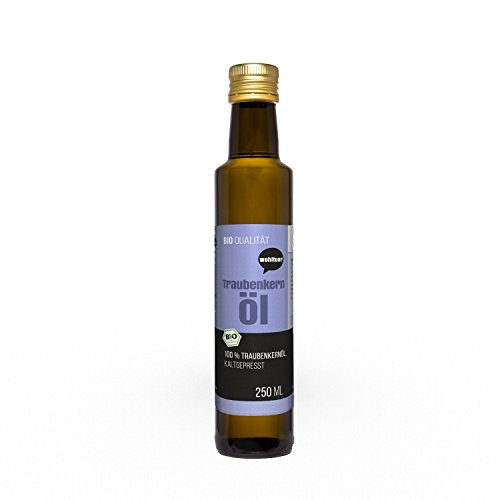 Wohltuer Traubenkernöl kaltgepresst 250ml aus...
