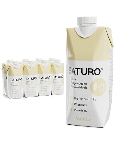 SATURO® Trinknahrung Vanille | Astronautennahrung...