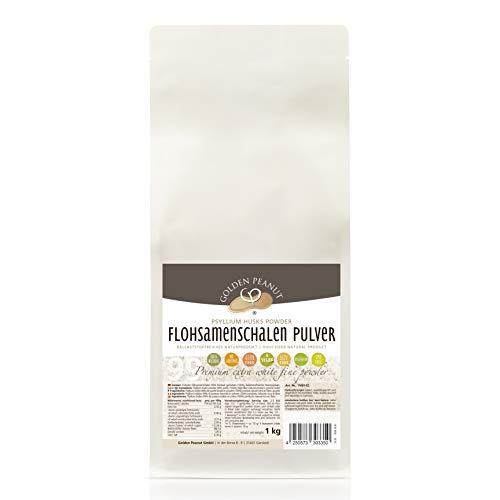 Flohsamenschalen Pulver 99 % 1 kg | Psyllium...