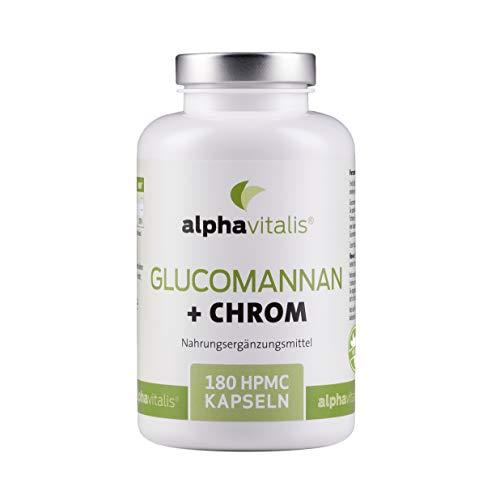 Endlich abnehmen mit Glucomannan + Chrom Kapseln -...