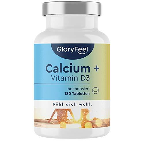 Calcium + Vitamin D - 180 Tabletten - 1000mg...