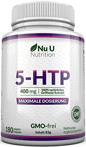 5-HTP 400mg maximal dosiertes Ergänzungsmittel  ...