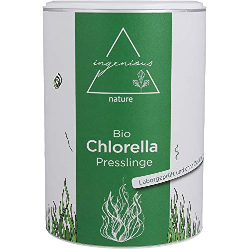 ingenious nature® Laborgeprüfte Bio Chlorella...