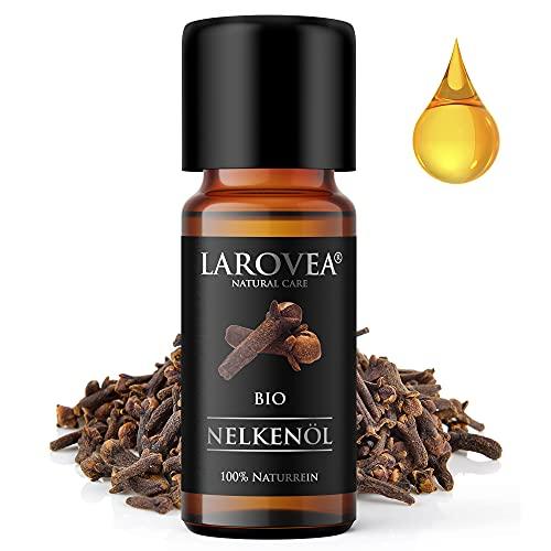 LAROVEA Nelkenöl BIO 10ml - 100% Naturreines...