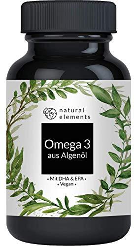 Omega 3 vegan - Premium: Mit EPA und DHA aus...