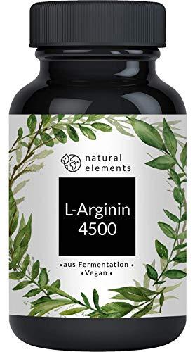 L-Arginin - 365 vegane Kapseln - 4500mg...