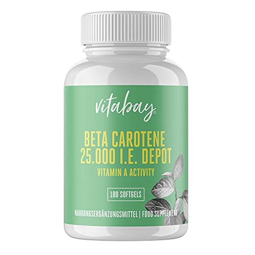 Vitabay Beta Carotin 25.000 IE • 180 Softgels...
