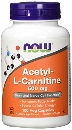 Now Foods, Acetyl-L-Carnitin, 500 mg, 100...