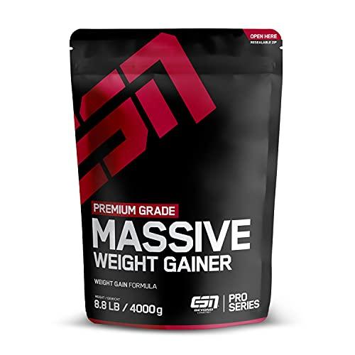 ESN Massive Weight Gainer, Vanilla Ice Cream,...
