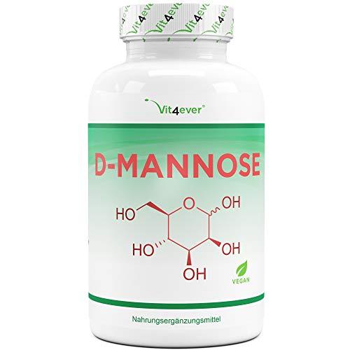 D-Mannose - 180 Kapseln - 1500 mg pro Tagesportion...