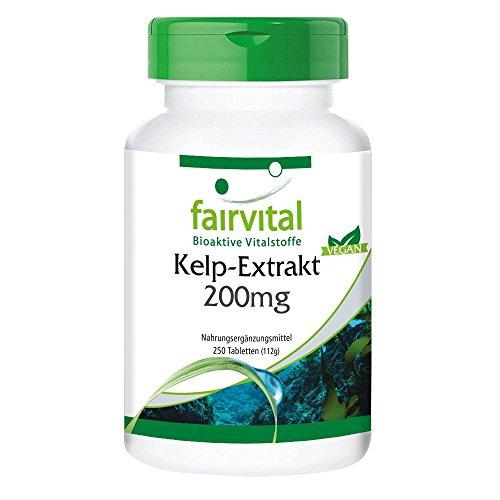 Kelp Tabletten - 300mcg natürliches Jod aus...