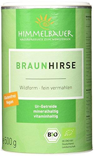 Himmelbauer Bio-Braunhirse 500g, 1er Pack (1 x 500...