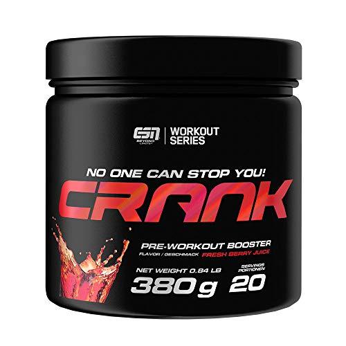 ESN Crank – 380g – Fresh Berry Juice – 20...