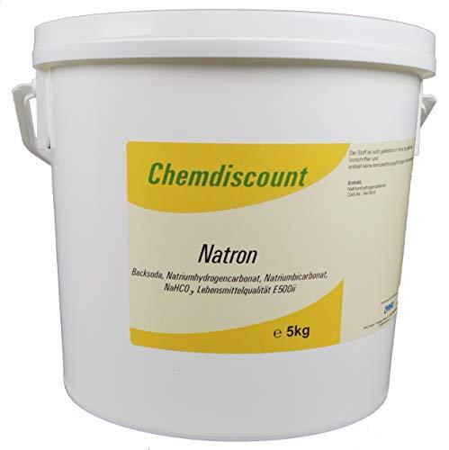 5kg Natron (Backsoda, Natriumhydrogencarbonat,...
