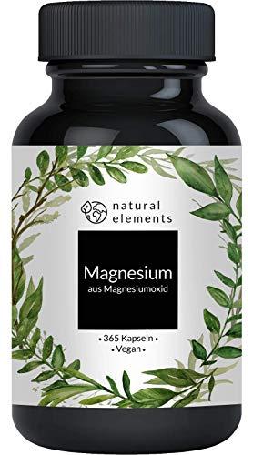 Magnesium - 365 Kapseln - 665mg, davon 400mg...