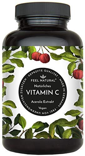 Acerola Kapseln - Natürliches Vitamin C - 180...