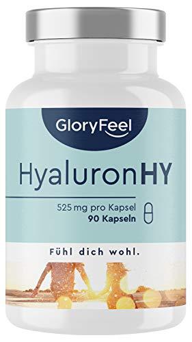 Hyaluronsäure Kapseln - Hochdosiert 525mg -...