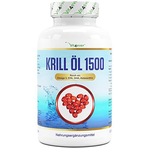 Krill Öl - 135 Kapseln - Premium: Antarktis...
