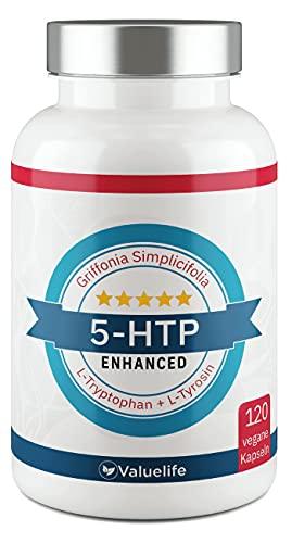 5-HTP Enhanced: VERGLEICHSSIEGER 2021* 180mg 5 HTP...
