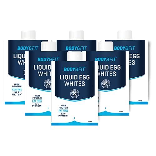 Body & Fit Flüssiges Eiweiß Protein Drink Eiklar...