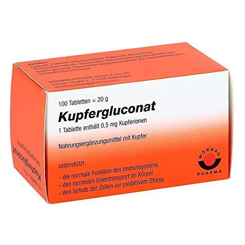 Kupfergluconat Tabletten, 100 St