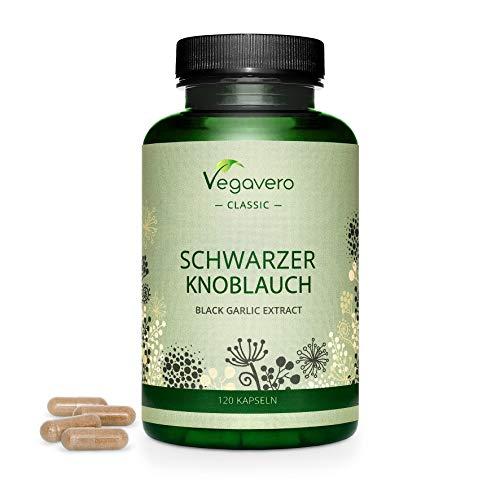 SCHWARZER KNOBLAUCH Vegavero ® | 600 mg Extrakt...