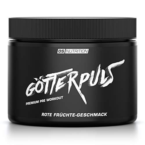 OS NUTRITION Götterpuls Premium Pre Workout Rote...