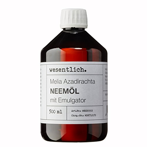 Neemöl mit Emulgator 500ml - fertig gemischt für...