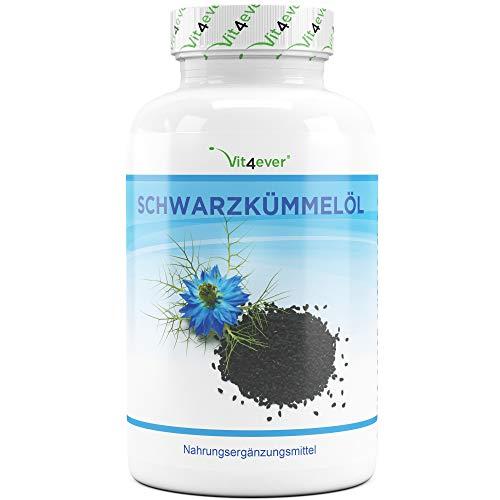 Schwarzkümmelöl - 420 Kapseln - 1000 mg pro...