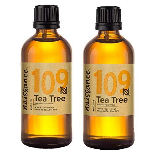 Naissance Teebaumöl (Nr. 109) 200ml (2x100ml)...
