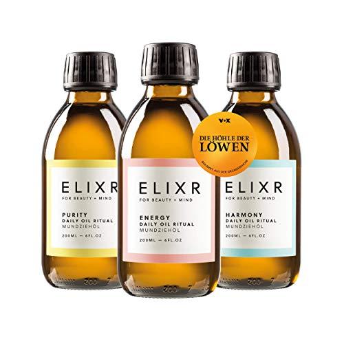 ELIXR Mundziehöl zum Ölziehen I Energy Harmony...