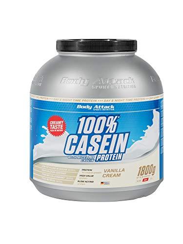 Body Attack 100% Casein Protein, reich an...