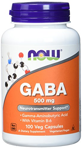 Now Foods Gaba Gamma-Amino-Buttersäure Mit...